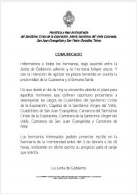 Solicitud de Cargo 2020
